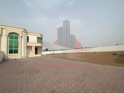 6 Bedroom Villa for Rent in Al Bateen, Al Ain - Exceptionally Magnificent with Outside Huge Yard