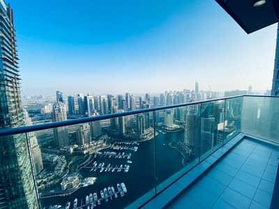 شقة 3 غرف نوم للايجار في دبي مارينا، دبي - 1