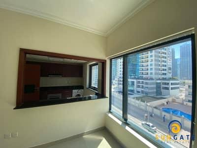1 Bedroom Flat for Rent in Dubai Marina, Dubai - Nearby Metro and mall partial marina views