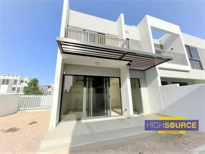 3 Bedroom Townhouse for Sale in Akoya Oxygen, Dubai - Corner Unit | 3 Bed + Maid with huge Backyard | No Commission