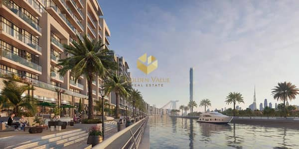 فلیٹ 1 غرفة نوم للبيع في مدينة ميدان، دبي - Inspired by French Riviera apartments. Canal view. Easy payment plan