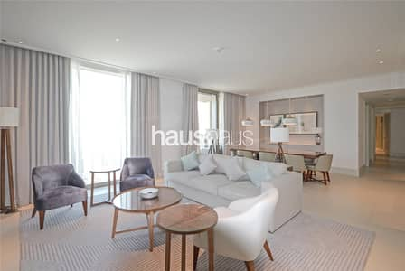3 Bedroom Apartment for Rent in Downtown Dubai, Dubai - High Floor| 3 Beds + Maids| Burj and Fountain view