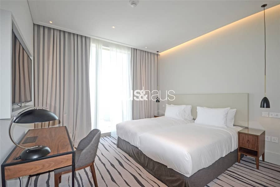 10 High Floor| 3 Beds + Maids| Burj and Fountain view