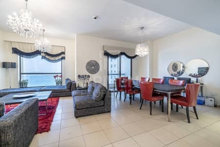 3 Bedroom Flat for Sale in Jumeirah Beach Residence (JBR), Dubai - Vacant and Bright 3 Bed | Full Sea Views