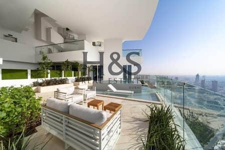 بنتهاوس 4 غرف نوم للبيع في قرية جميرا الدائرية، دبي - Luxurious Penthouse I  High Floor I Pool View