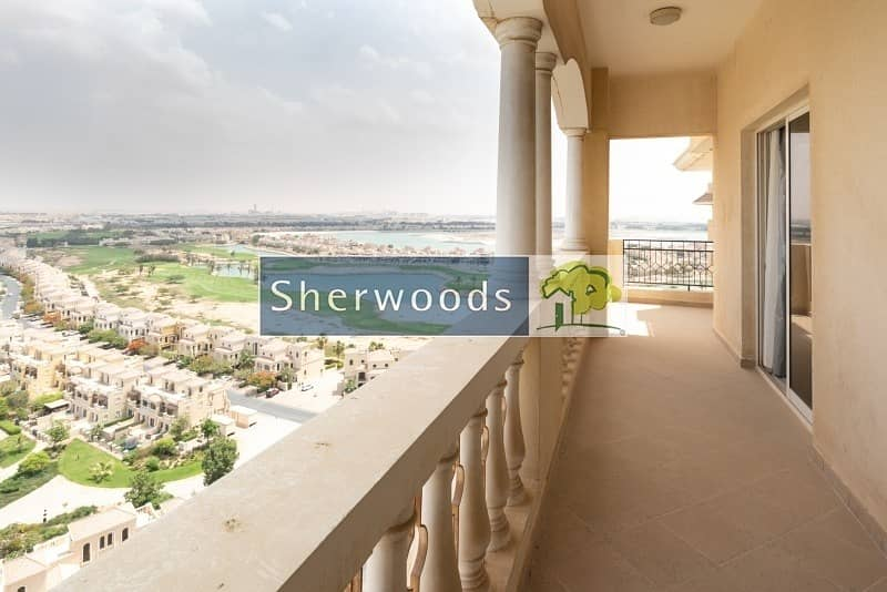 Fully Furnished High Floor Golf And Lagoon Views