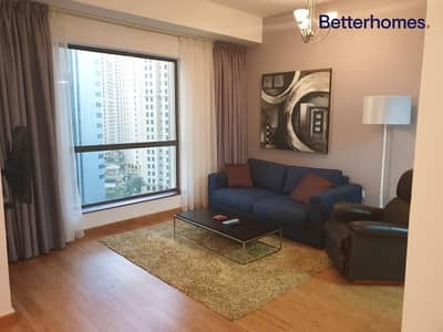 1 Bedroom Flat for Rent in Jumeirah Beach Residence (JBR), Dubai - Furnished|Upgraded|Partial Sea & Marina View