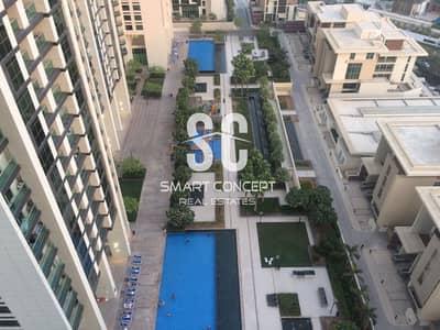 فلیٹ 1 غرفة نوم للايجار في جزيرة الريم، أبوظبي - Furnished | Partial Sea View | 3 Chqs