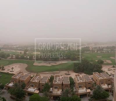 فلیٹ 2 غرفة نوم للايجار في ذا فيوز، دبي - Partial golf course and lake view 2 Bed mid floor