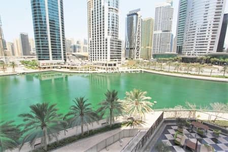 2 Bedroom Flat for Rent in Jumeirah Lake Towers (JLT), Dubai - Full Lake View | 2 Bed w Balcony n Maid | Parking