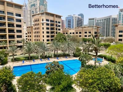 3 Bedroom Apartment for Rent in The Greens, Dubai - Pool Facing - Large 3 Bedroom - Vacant Now