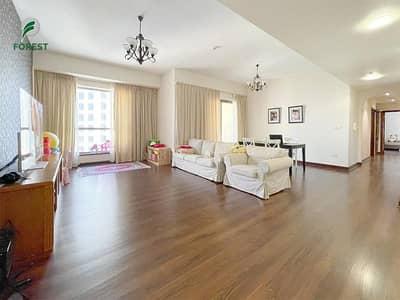 فلیٹ 2 غرفة نوم للايجار في جميرا بيتش ريزيدنس، دبي - Exclusive   Spacious 2BR   Well Maintained