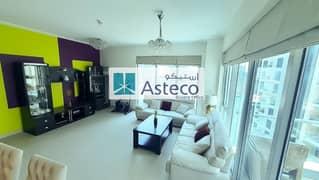 شقة في برج أتيسا مارينا بروميناد دبي مارينا 2 غرف 169900 درهم - 5144063