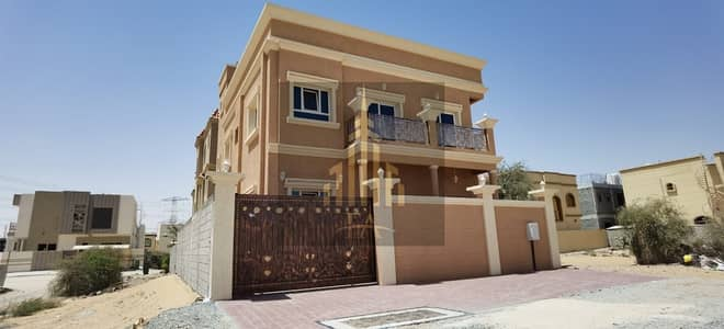 5 Bedroom Villa for Rent in Al Helio, Ajman - SPACIOUS BRAND NEW VILLA AVAILABLE IN AL HELIO   ,FOR RENT 65k AED YEARLY
