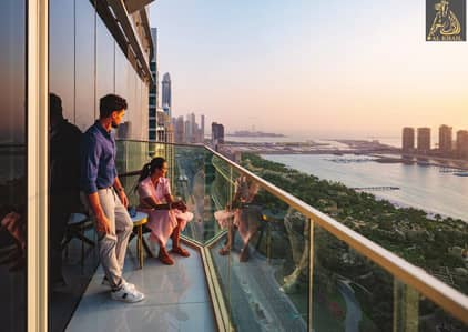 1 Bedroom Flat for Sale in Dubai Media City, Dubai - High-End Waterfront 1BR Apartment in Palm Jumeirah Nice View