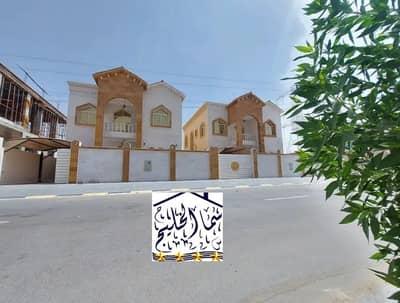 فیلا 5 غرف نوم للبيع في الياسمين، عجمان - فيلا مودرن للبيع خلف حديقة الحميديه بسعر ممتاز جدا فيلا  تملك حر تصميم رائع  قريب جدا من ش الشيخ محمد بن زايد .