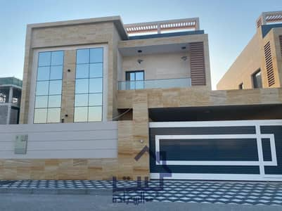 5 Bedroom Villa for Sale in Al Aaliah, Ajman - For sale in Ajman, super deluxe finishing villa,