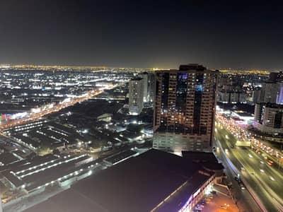 2 Bedroom Apartment for Rent in Al Rashidiya, Ajman - high floor with parking full open view