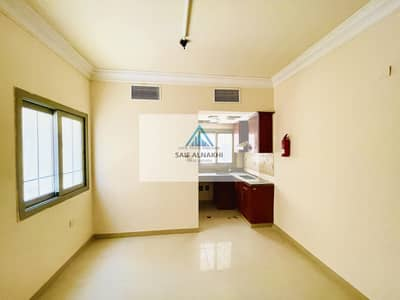 Studio for Rent in Muwaileh, Sharjah - Seprate kitchen studio | 30-Days Free | Central Ac | All Amenities Available