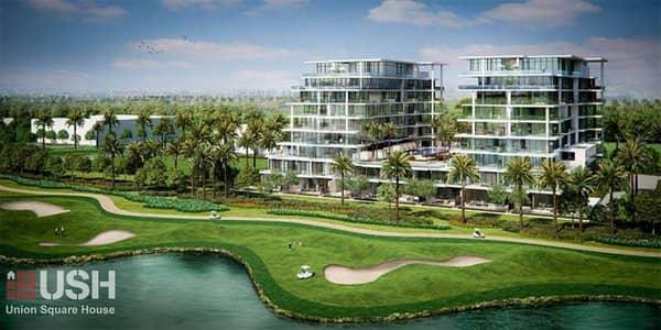 فلیٹ 2 غرفة نوم للبيع في داماك هيلز (أكويا من داماك)، دبي - Fully Furnished/Full Golf Course view/No Commission