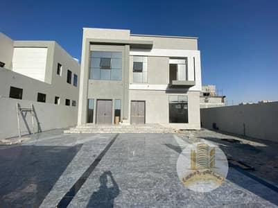 5 Bedroom Villa for Sale in Al Aaliah, Ajman - فيلا للبيع بعجمان منطقه العاليه تشطيب شخصي شارع اسفلت واجهه حجر
