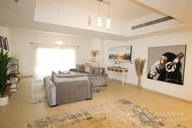 شقة في الأندلس عقارات جميرا للجولف 4 غرف 130000 درهم - 5144912