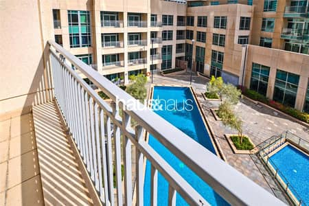 Studio for Rent in Downtown Dubai, Dubai - Largest Studio Layout | Pool Views | Chiller Free