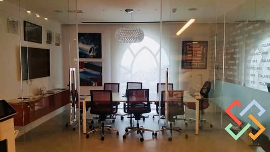 Office for Sale in Jumeirah Lake Towers (JLT), Dubai - Fully Fitted | Furnished | Higher Floor | Open View