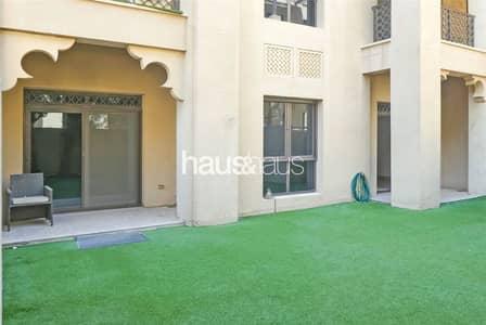 شقة 2 غرفة نوم للايجار في المدينة القديمة، دبي - Exclusive | 538 sq. ft garden | Available