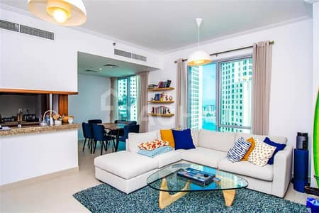 1 Bedroom Apartment for Sale in Dubai Marina, Dubai - Bright Spacious 1 Bed / Marina & JBR Views