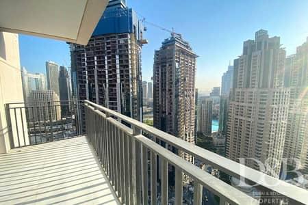 3 Bedroom Flat for Rent in Downtown Dubai, Dubai - Burj Khalifa View | Balcony | Bright 3BR