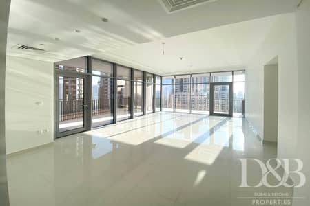 3 Bedroom Flat for Rent in Downtown Dubai, Dubai - Burj Khalifa View   Balcony   Bright 3BR