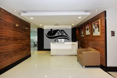 Office for Rent in Hamdan Street, Abu Dhabi - NICELLY FITTED FURNISHED OFFICES IN HAMDAN STREET