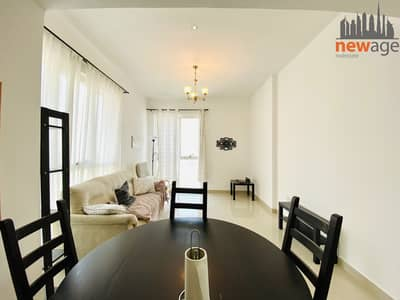 1 Bedroom Flat for Rent in Dubai Production City (IMPZ), Dubai - Lake View Furnished One Bedroom For Rent In Lakeside D IMPZ