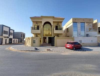 5 Bedroom Villa for Sale in Al Yasmeen, Ajman - BRAND NEW VILLA FOR SALE IN AJMAN AL yasmeen  5 BEDROOM MAJLIS HALL KITCHEN WITH CAR PARKING VERY SPECIAL LOCATION