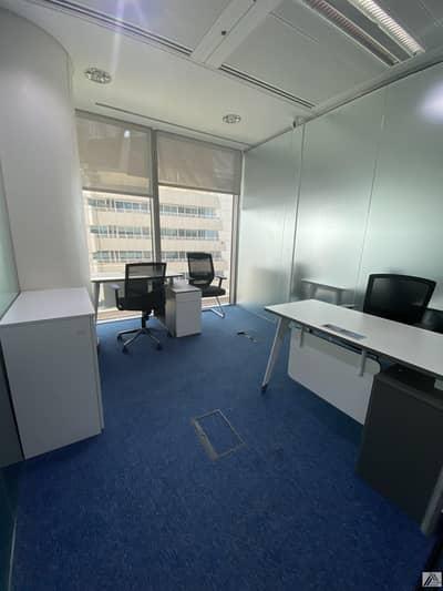 مکتب  للايجار في بر دبي، دبي - Deal of the week| Serviced and Furnished Sharing Office Good For 2 persons | Linked  with Metro