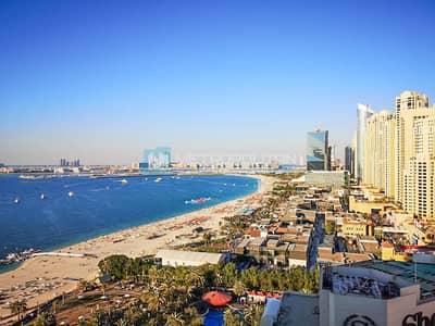1 Bedroom Apartment for Sale in Jumeirah Beach Residence (JBR), Dubai - Furnished  Large Unit| Upgraded|Vacant On Transfer