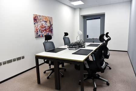 مکتب  للايجار في الروضة، دبي - Office