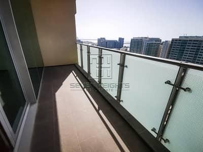 شقة 2 غرفة نوم للايجار في شاطئ الراحة، أبوظبي - Fabulous 2BR Apartment Top Floor With Sea View !