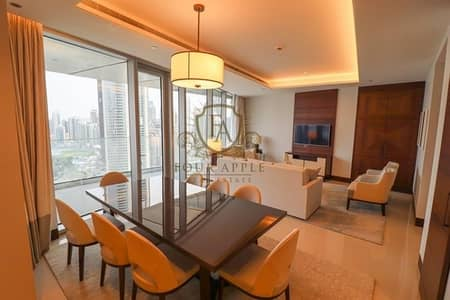 3 Bedroom Apartment for Rent in Downtown Dubai, Dubai - 04 Series |  Fully Furnished | Burj Khalifa View