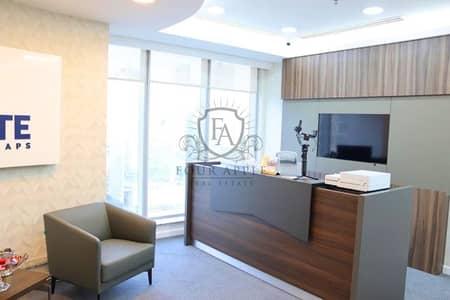 مکتب  للبيع في الخليج التجاري، دبي - Newly Renovated   New Furniture's & Computer 1300000AED