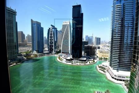 Office for Sale in Jumeirah Lake Towers (JLT), Dubai - Rented til 2022 | Furnished Office | Mid Floor