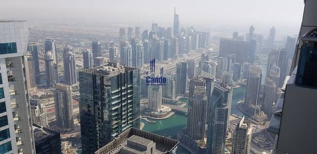 شقة 1 غرفة نوم للبيع في دبي مارينا، دبي - Biggest Unit | 1Br on Highest Floor | Marina View