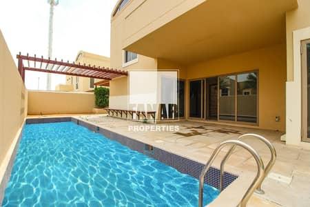 4 Bedroom Villa for Sale in Al Raha Gardens, Abu Dhabi - Big Layout 4BR Villa with Huge Garden   Invest Now