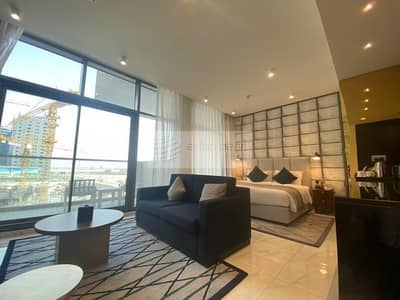 High Floor | Studio with Balcony | Fully Furnished