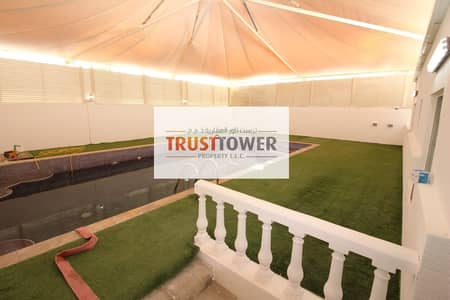 2 Bedroom Flat for Rent in Khalifa City A, Abu Dhabi - Brand new 2 BHK with private swimming bool for rent in KCA
