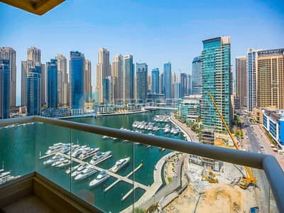 شقة 2 غرفة نوم للبيع في دبي مارينا، دبي - RARE  DEAL I RIGHT ON WATER I MARINA VIEW I VACANT