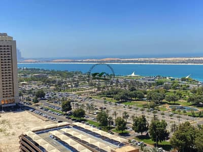 3 Bedroom Flat for Rent in Corniche Road, Abu Dhabi - Amazing Sea View 3BR Apt with Maids Room|