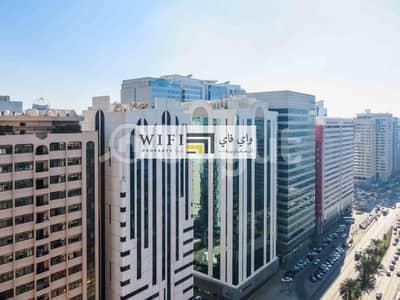 استوديو  للايجار في شارع إلكترا، أبوظبي - AFFORDABLE STUDIO WITH BALCONY -  ZERO COMMISSION