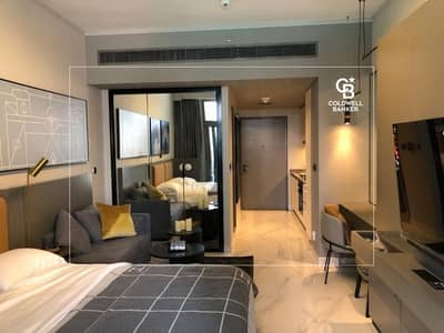 Furnished Studio | Swimming Pool & Canal View